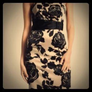 WHBM Convertible Strapless Pencil Dress